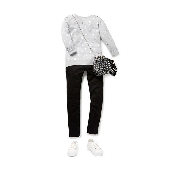 Foil Star Sweater