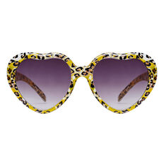 Ocelot Heart Sunglasses
