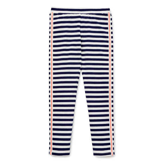Pop Trim Stripe Legging
