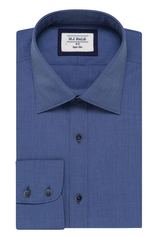 Neven Denim Shirt-Denim-41, , hi-res