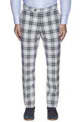 Fortunato Navy Trouser, , hi-res