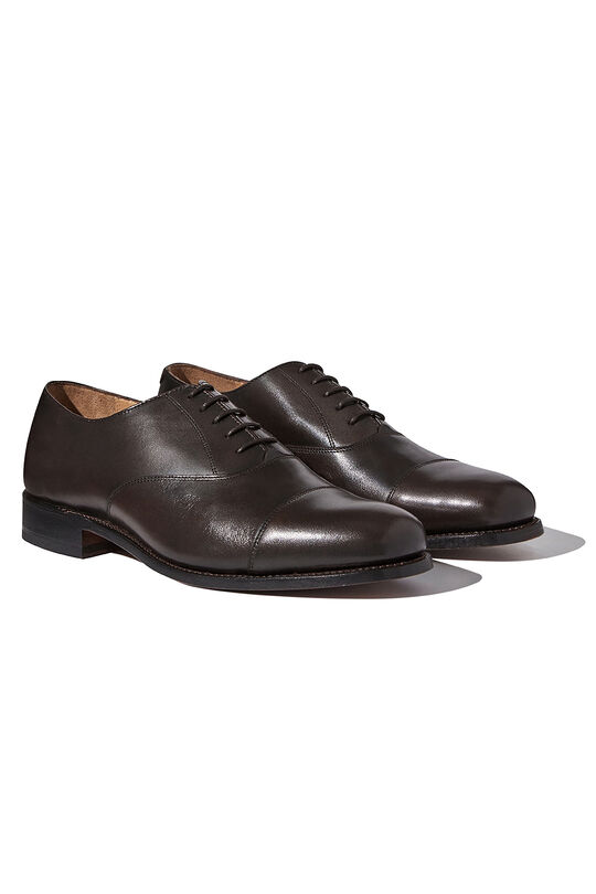 London Brown Oxford Shoes, , hi-res