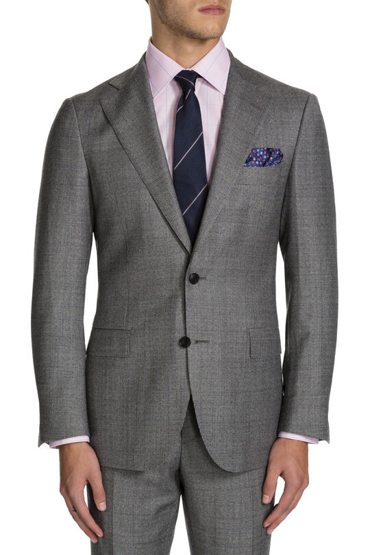 Ariosto Grey/Blue Jacket, , hi-res
