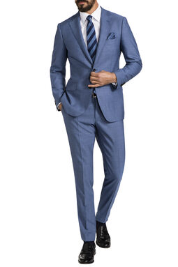Clemens Blue Suit, , hi-res