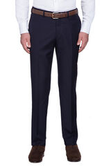 Saunders Navy Slim Trouser, , hi-res