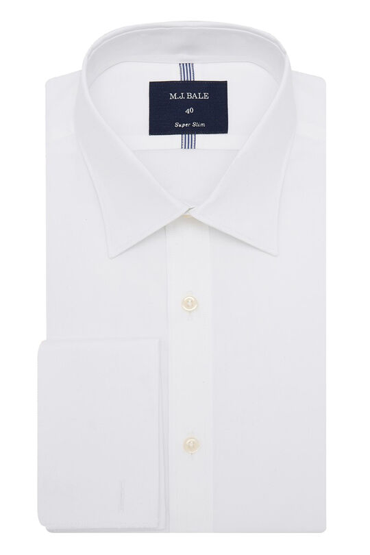 Owens White Shirt-White-44, , hi-res