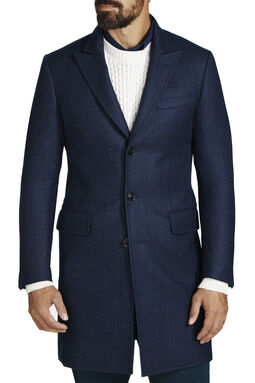 Glover Navy Coat