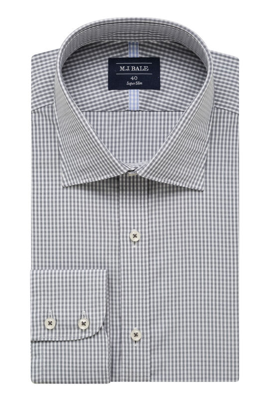 Allerton Grey Shirt, , hi-res