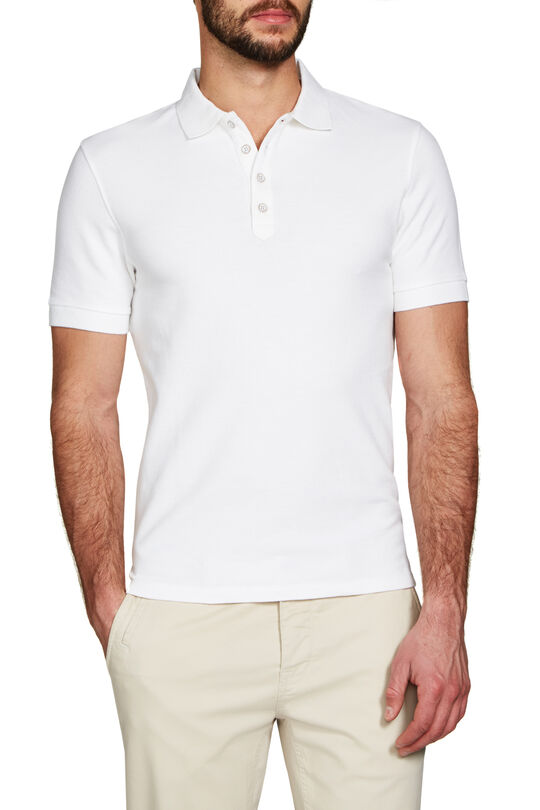 Dallas White Polo, , hi-res
