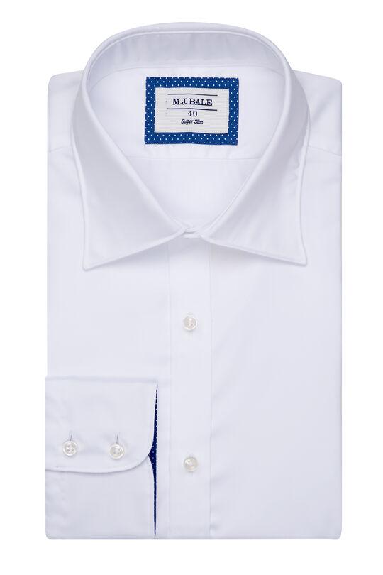 Parker White Shirt-White-43, , hi-res