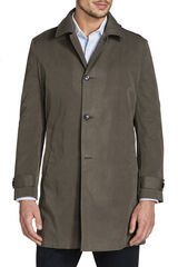 Luculia Khaki Car Coat, , hi-res