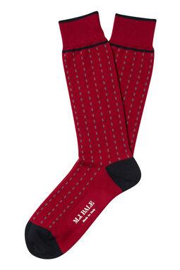 Tracks Red/Navy Sock, , hi-res