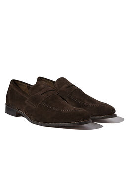 Dublin Dark Brown Loafer, , hi-res