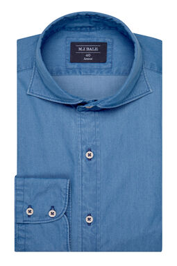 Locke Denim Shirt-Denim-41, , hi-res