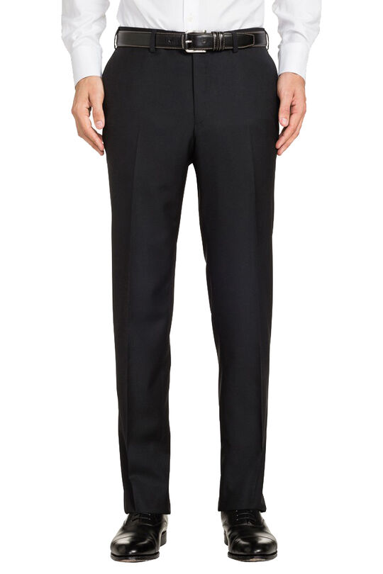 Saunders Black Trousers, , hi-res