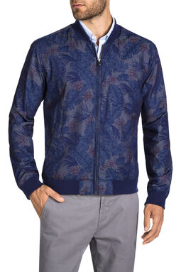 Irving Denim Bomber Jacket, , hi-res