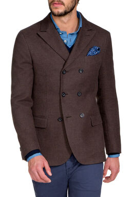 Vicarone Brown Jacket, , hi-res