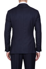 Saunders Navy Jacket-Navy Long-42, , hi-res