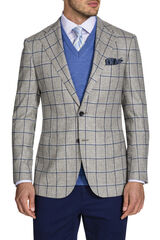 Arturo Grey Jacket, , hi-res