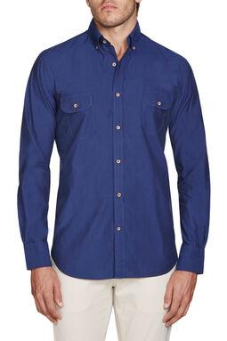 Lawndale Navy Shirt, , hi-res