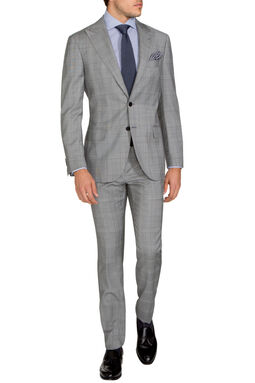 Gonville Light Grey Suit, , hi-res