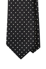 Markham Black/White Tie, , hi-res