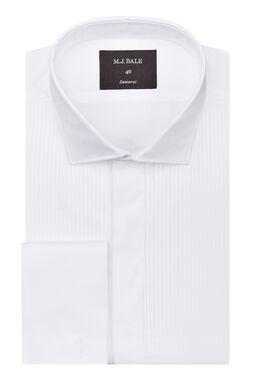 Ramini White Tuxedo Shirt, , hi-res