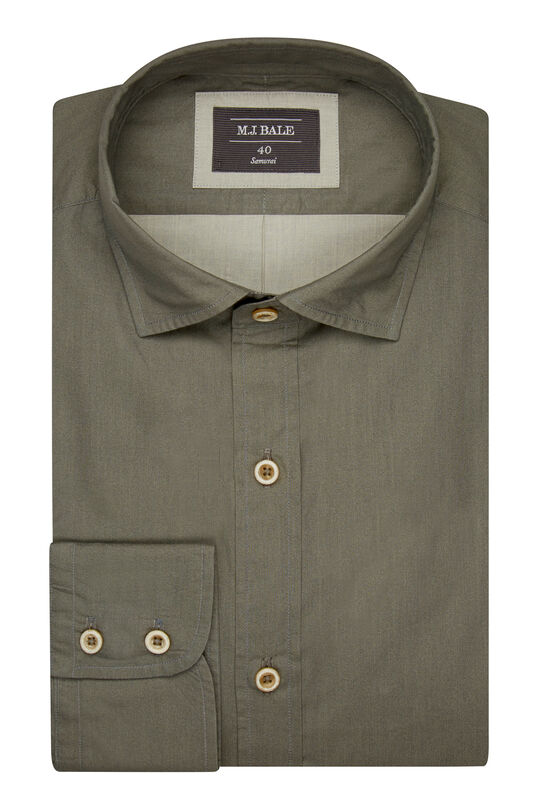 Perconti Khaki Shirt, , hi-res