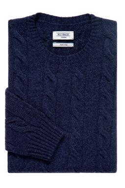 Harvard Navy Marle Knit
