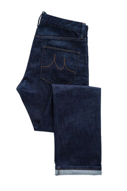 Boston Indigo Denim Jeans, , hi-res