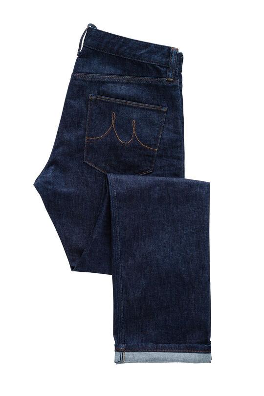Boston Indigo Denim Jeans-Indigo-36, , hi-res