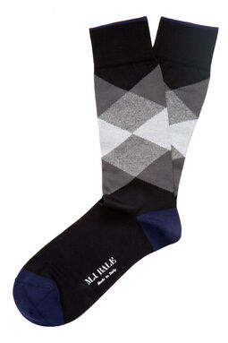 Fratelli Black/Grey Sock