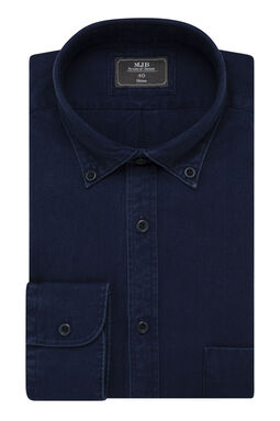 Athari Denim Shirt, , hi-res