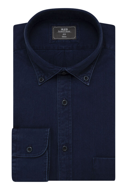 Athari Denim Shirt, , hi-res