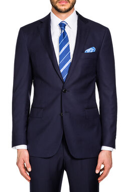 Saunders Navy Slim Jacket, , hi-res