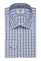 Heno Blue Shirt-Blue-42, , hi-res