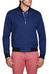 Hilts Bomber Navy Jacket, , hi-res