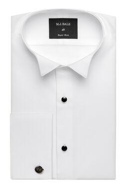 Termao White Tuxedo Shirt, , hi-res