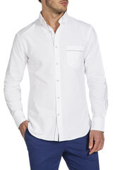 Keiyo White Selvedge Shirt, , hi-res