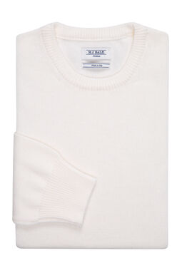 Berger Chalk White Knitwear
