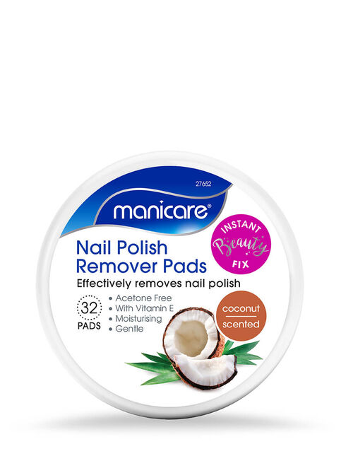 Nail Polish Remover Pads - Coconut