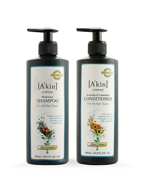 Duo 500ML Rosemary Shampoo & Avocado & Calendula Conditioner