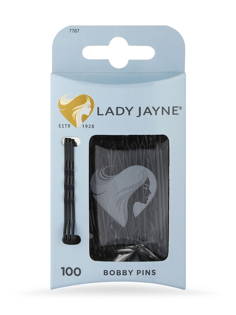 Black Bobby Pins - 100 Pk