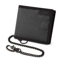 RFIDsafe Z100 RFID blocking bi-fold wallet, Charcoal