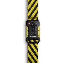 Strapsafe 100 TSA accepted luggage strap, Yellow & Black