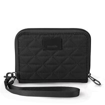 RFIDsafe W100 RFID blocking wallet, Black