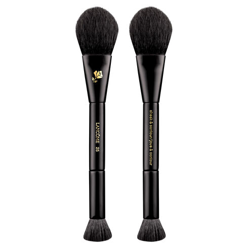 Lancome Lancôme® Dual-Ended Natural Hair Cheek & Contour Brush