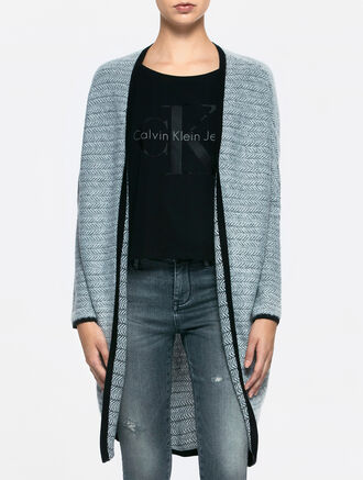 CALVIN KLEIN SOCOON LONG SLEEVES CARDIGAN