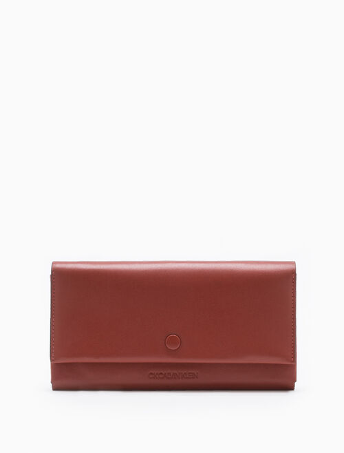 CALVIN KLEIN ORIGAMI LONG FLAP WALLET