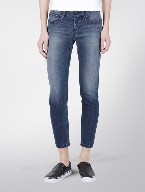 CALVIN KLEIN IRO BLUE BODY ANKLE PANTS